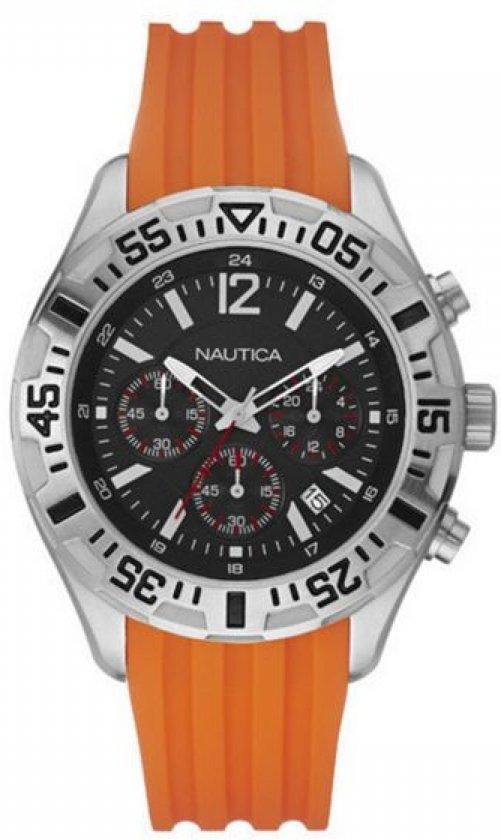 Nautica - Horloge Heren Nautica A17666G (44 mm) - Unisex -