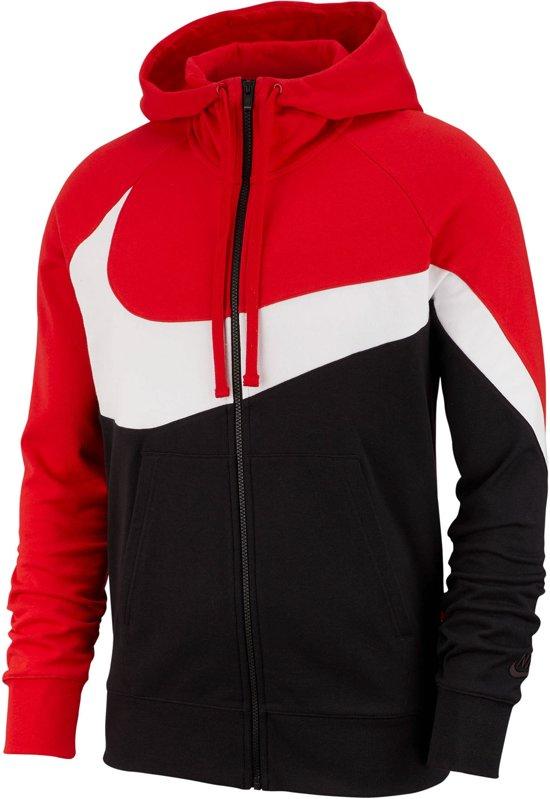 nike hoodie rood