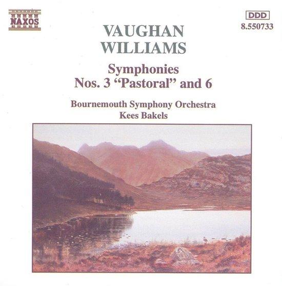 Vaughan-Williams: Symphonies 3 & 6 / Kees Bakels