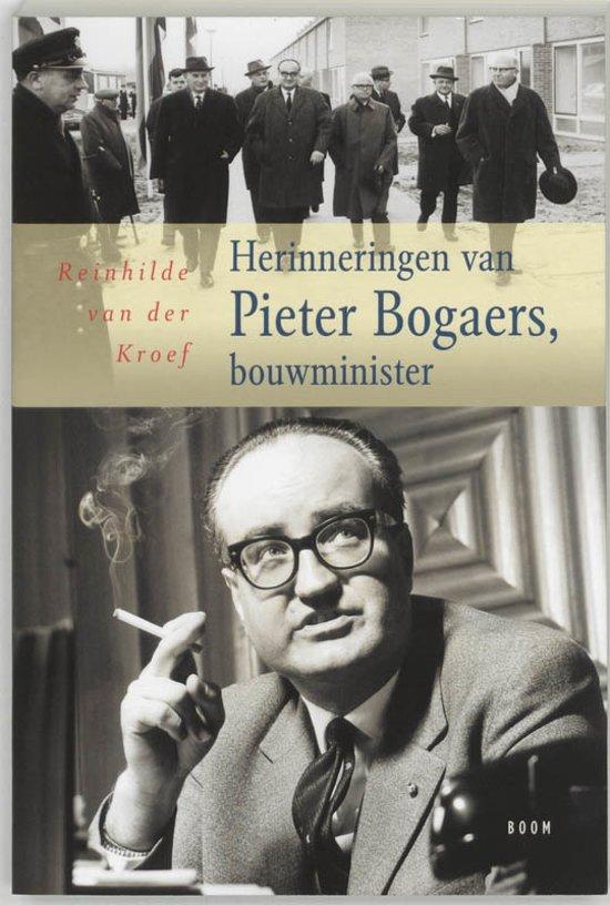 Herinneringen Van Pieter Bogaers, Bouwminister