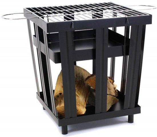 Vuurkorf Cube - Vuurkorf en BBQ in 1