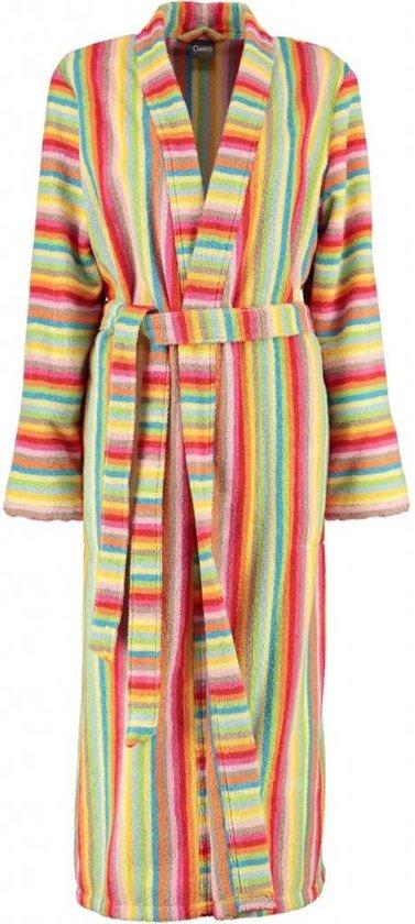 7a45b2267fc Cawö dames badjas badstof multicolor maat 36