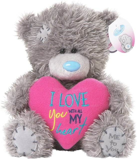 Bolcom Me To You Love You Heart 18cm Knuffelbeer Me To You