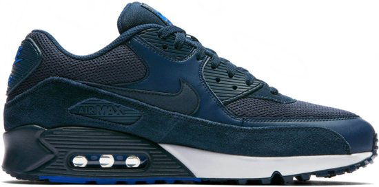 nike air max 90 essential heren blauw
