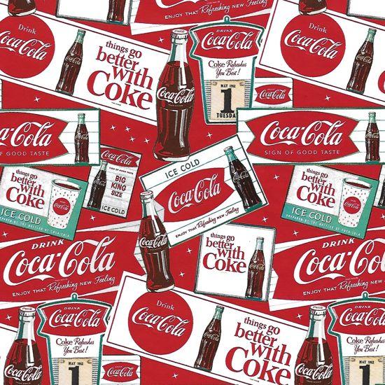 Coca-Cola - Luxe Cadeaupapier - Inpakpapier - 5 rollen