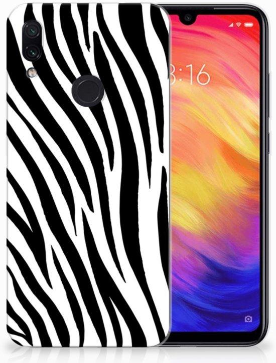 Xiaomi Redmi Note 7 TPU Hoesje Design Zebra