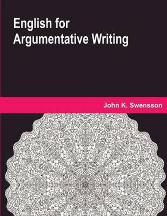 English for Argumentative Writing