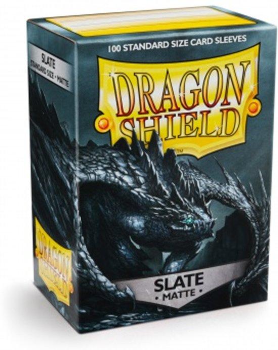 Afbeelding van het spel Dragon Shield Matte Standard Sleeves Slate 100