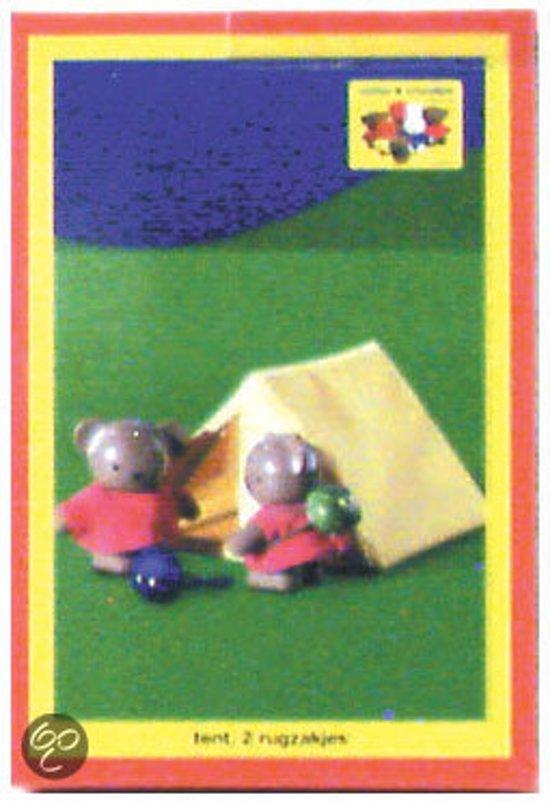 b252a00ccaf Nijntje Tent met twee Rugzakken, exclusief poppetjes