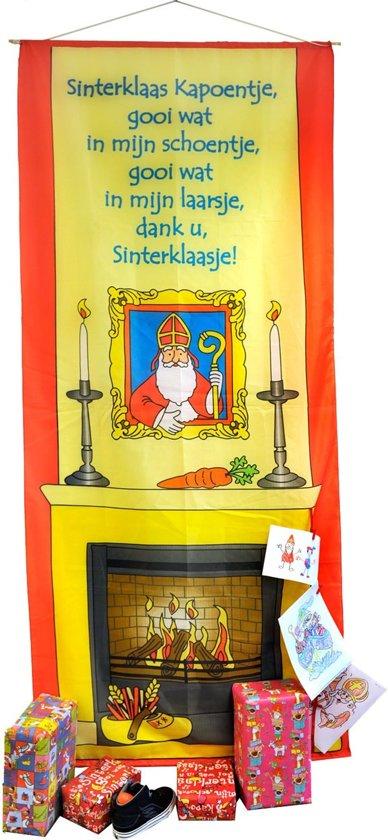 Schoorsteenbanner Sinterklaas