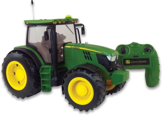 Large John Deere Farm Tractors : Bol britains big farm john deere r rc tractor