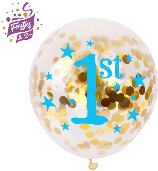 Bekend bol.com | Confetti ballon eerste verjaardag jongen, FENGRISE @IS92