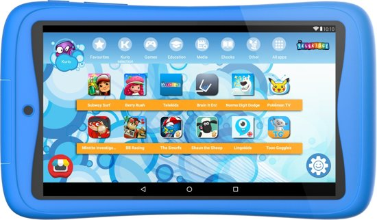 Kurio Tab Connect Telekids - 16GB - Blauw - Kindertablet