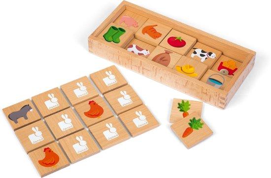 Afbeelding van het spel Janod Boerderij Memory - Kinderspel