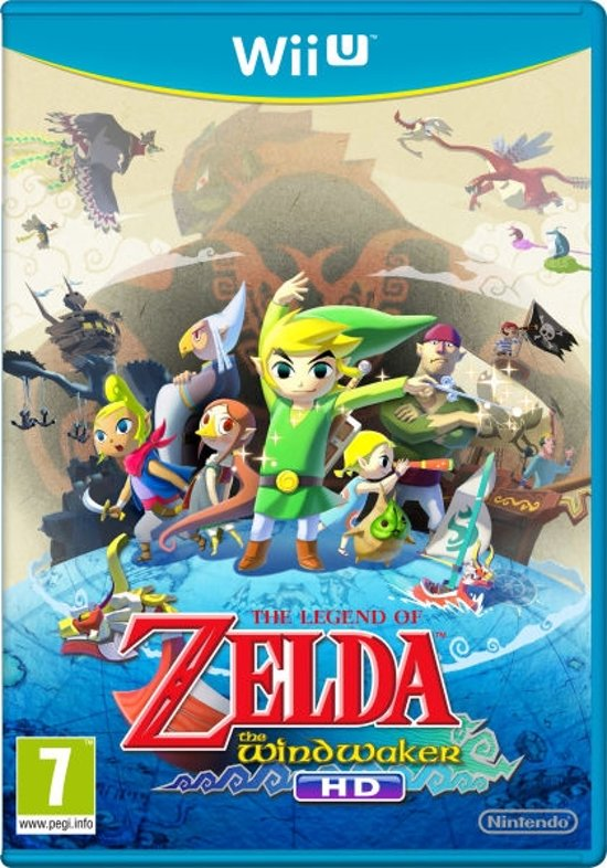 Nintendo Legend of Zelda: The Wind Waker HD Wii U kopen