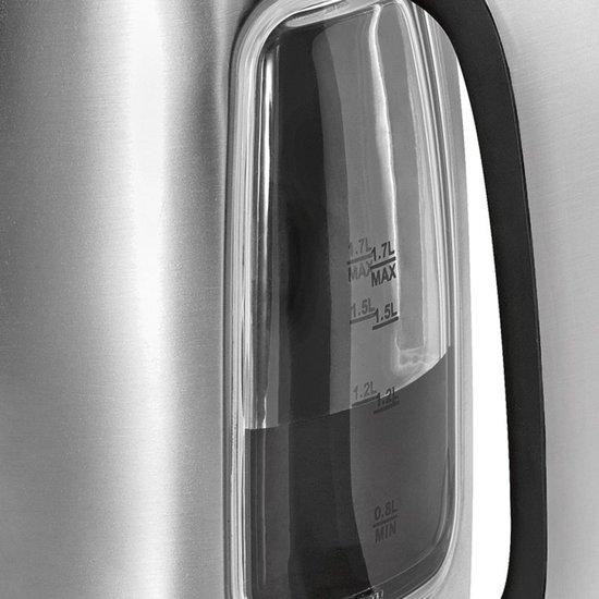 ProfiCook Waterkoker 2200 W 1,7 L Zilver PC-WKS 1083