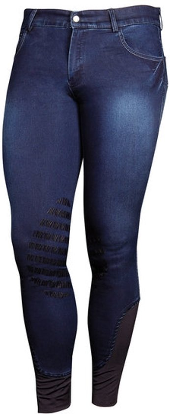 Harry's Horse Rijbroek MD heren grip blauw H46