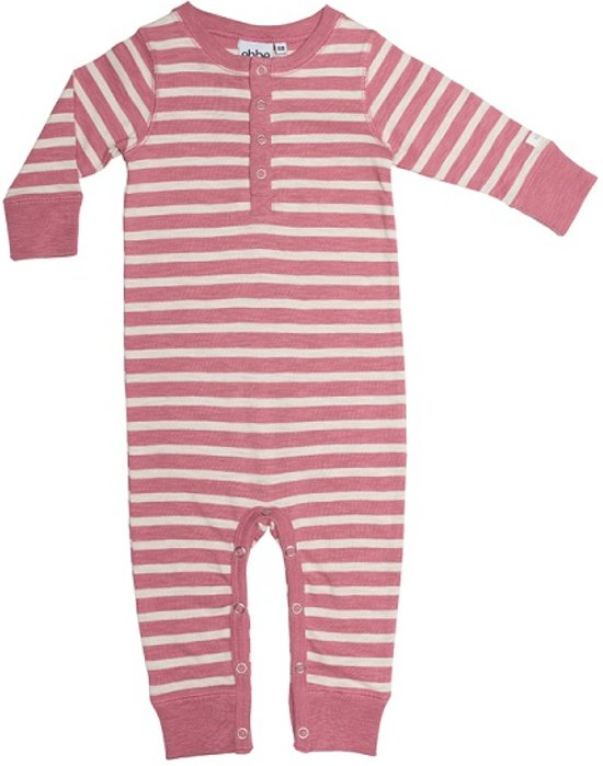 Ebbe - boxpak - model Amore - dusty pink offwhite stripe - Maat 56