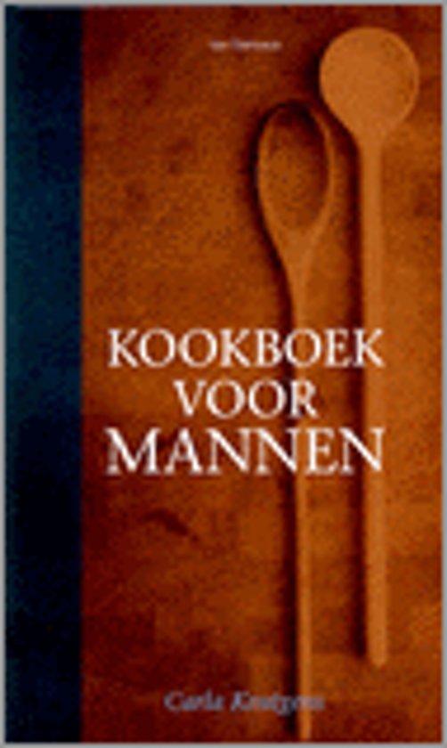 Boek cover Kookboek Voor Mannen van Carla Kentgens (Hardcover)