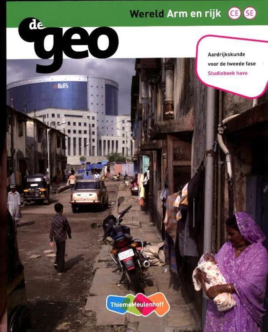 De Geo Wereld arm en rijk Havo tweede fase deel studieboek