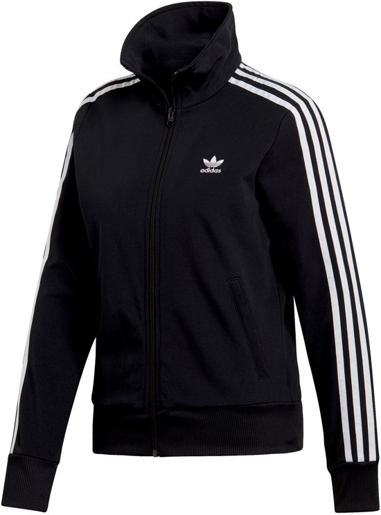 adidas Trainingsjack  Sportvest - Maat 30  - Vrouwen - zwart/wit