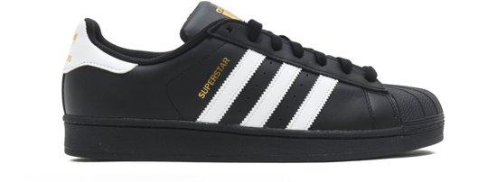 adidas SUPERSTAR FOUNDATION B27140 - schoenen-sneakers - Unisex - zwart -  maat  44.5