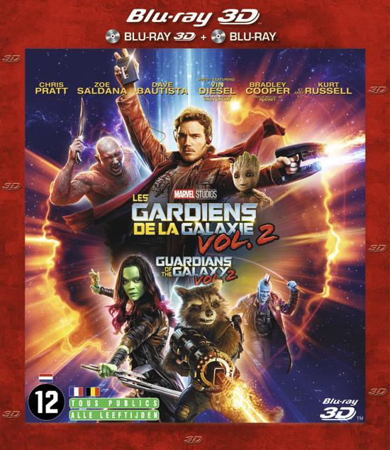 DVD cover van Guardians of the Galaxy 2 (3D & 2D Blu-ray)