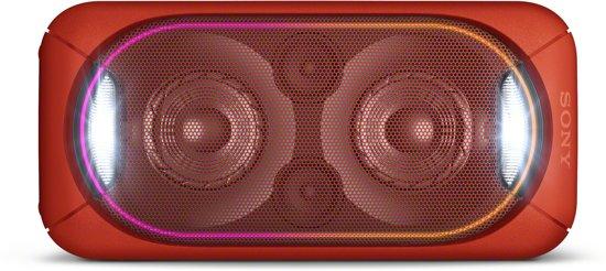 Sony GTK-XB60 EXTRA BASS Bluetooth luidspreker rood