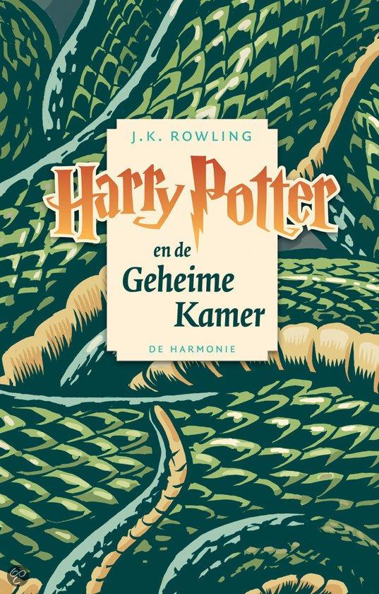 Cover van het boek 'Harry Potter 002 en de geheime kamer luisterboek' van J.K. Rowling