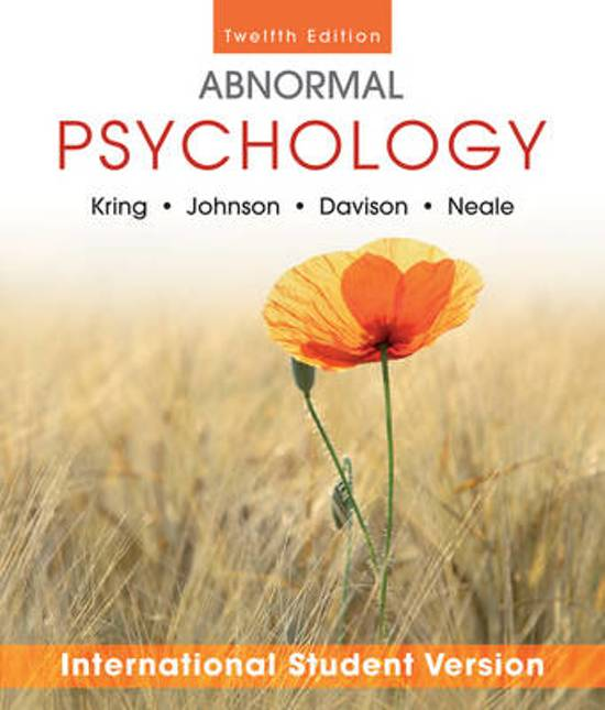 chapter by chapter abnormal psych 1 chapter 13: abnormal psychology psy 100 rick grieve, phd western kentucky university.
