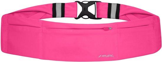 Fitletic 360 Sport Heupriem met 3 vakken - maat Small - Pink