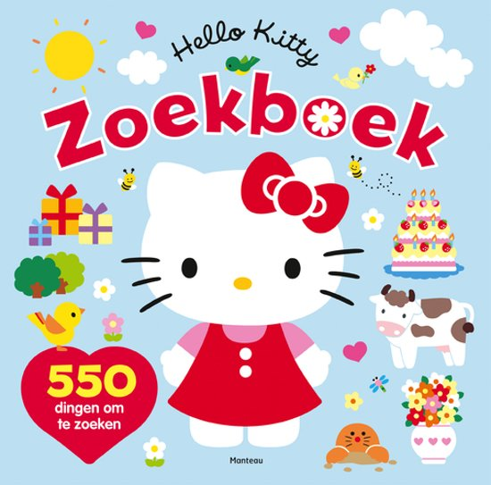 Boek cover Hello Kitty - Zoekboek van  (Paperback)