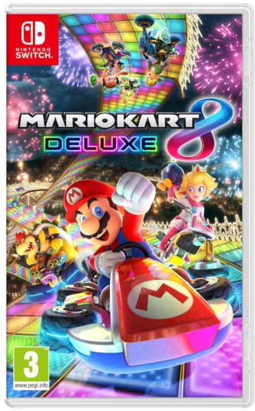 Cover van de game Mario Kart 8 Deluxe - Switch