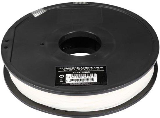 1.75 mm eLastic-FILAMENT - NATUREL - 0.5 kg