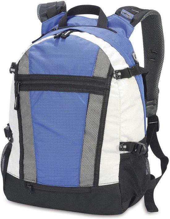 Shugon Student/ Sports Backpack Royal/Off White 20 Liter
