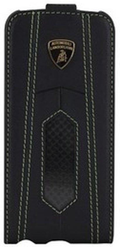 Lamborghini LA255189 mobiele telefoon behuizingen Flip case Zwart, Groen