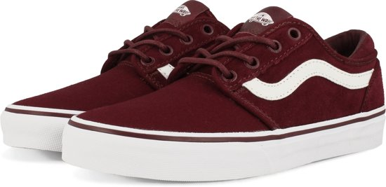 vans old skool donkerrood