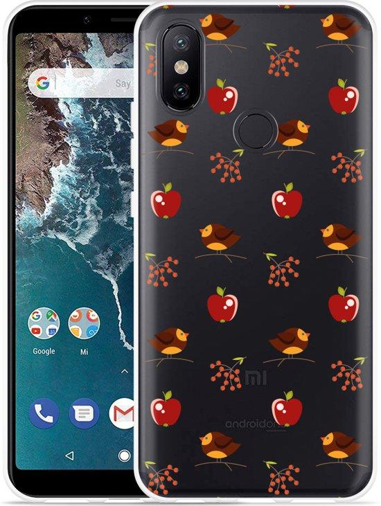 Xiaomi Mi A2 Hoesje Apples and Birds
