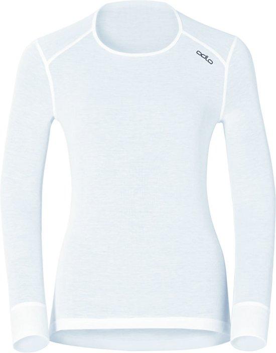 Odlo Bl Top Crew Neck L/S Active Warm Dames Thermoshirt - White - Maat L