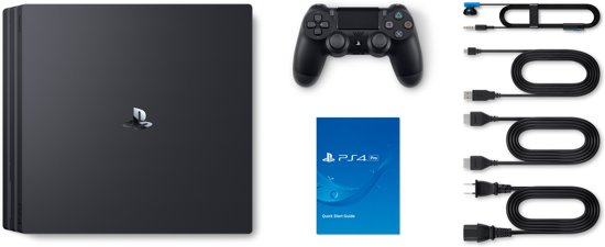 PlayStation 4 Pro Console - 1 TB -  PS4