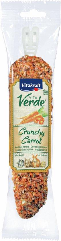 Vitakraft Vita Verde Nibbler - Wortel - Knaagdierensnack - 120 g
