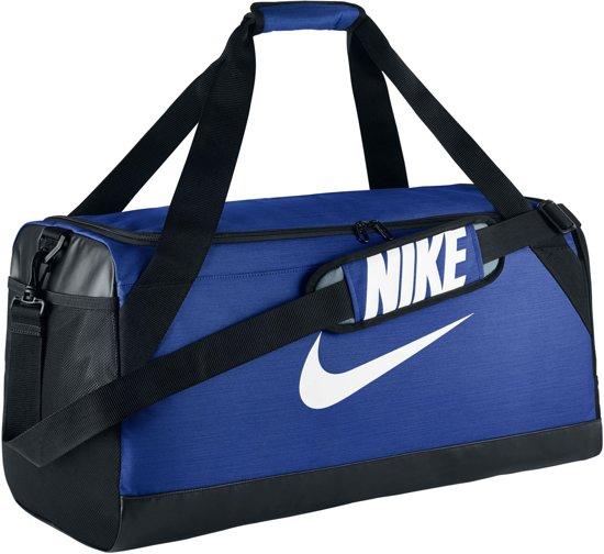 Nike Brasilia Medium Sporttas - Blauw