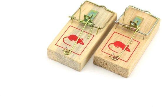 houten muizenval