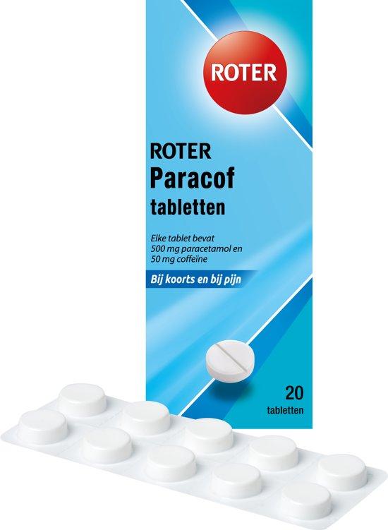 Roter paracof 550 mg - 20 Tabletten - Pijnstillers