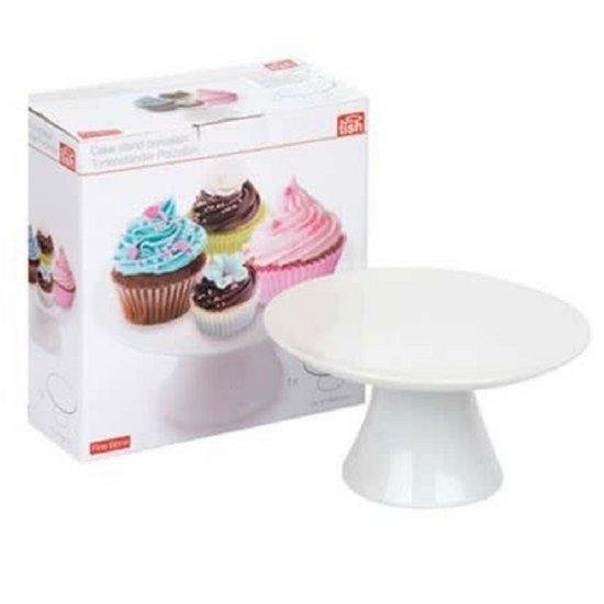Taartplateau | Wit | Taarten & Cupcakes | Taartplateau op voet