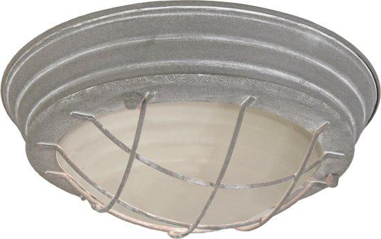 Basiclamp plafonnière Industrie - beton - korf - 30 cm.