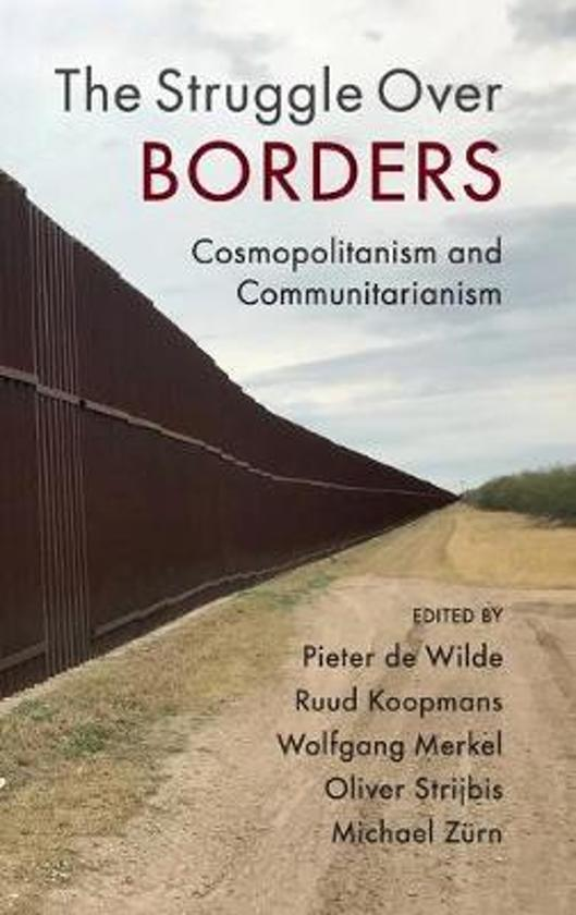 Boek cover The Struggle Over Borders van  (Hardcover)