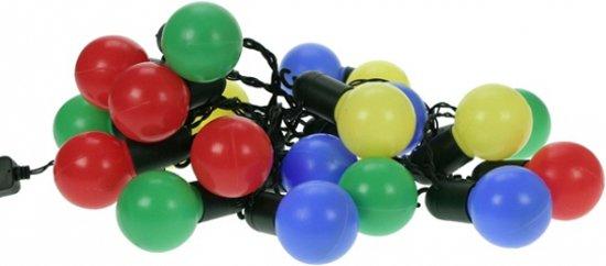 bol.com | Lichtsnoer met gekleurde bolletjes