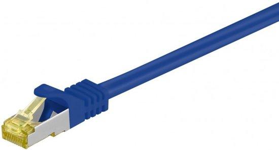 Goobay 91664 netwerkkabel 25 m Cat7 S/FTP (S-STP) Blauw
