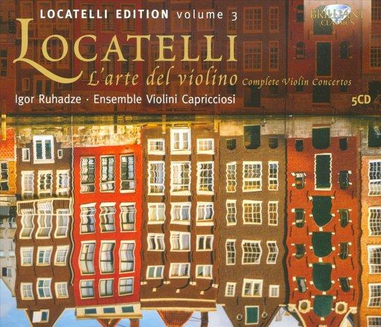 Locatelli: L'Arte Del Violino, Comp